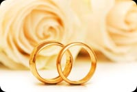 Happy Gold Wedding Anniversary Background