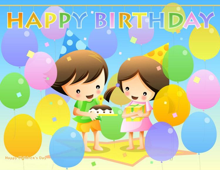 Free Birthday Stationary ~ Birthday email stationery stationary : cute kids happy birthday