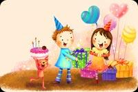 A Joyful Birthday! Background