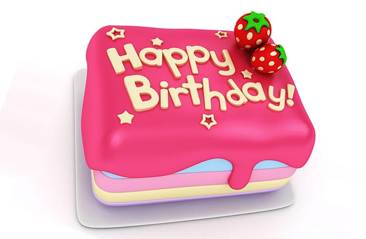 Birthday Cake Images For Email : Birthday email stationery (stationary): Delicious Birthday ...