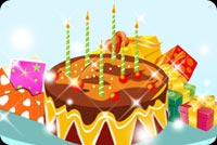 A Special Birthday Cake Background