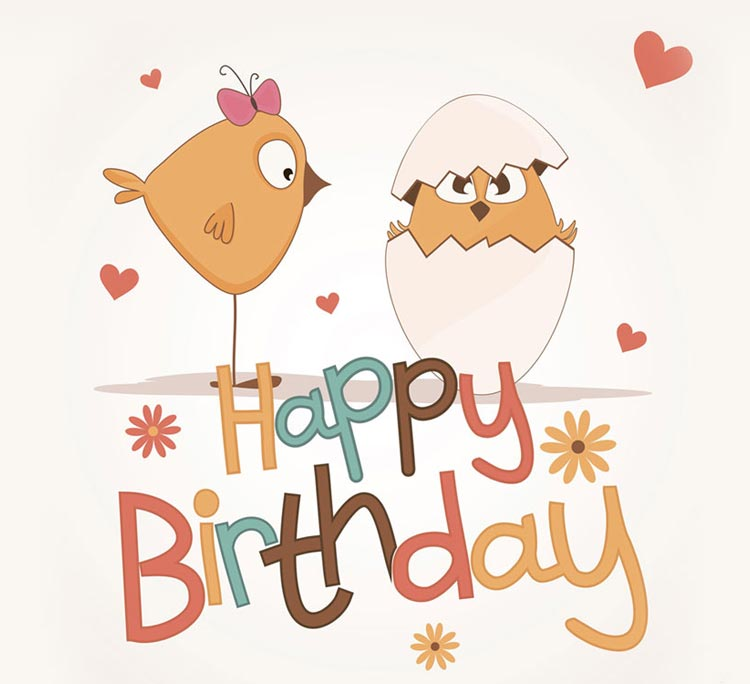 Онлайн благовещением, открытка яйца с днем рождения