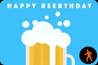 Happy Beerthday Background