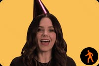 Happy Birthday By Sophia Bush Background