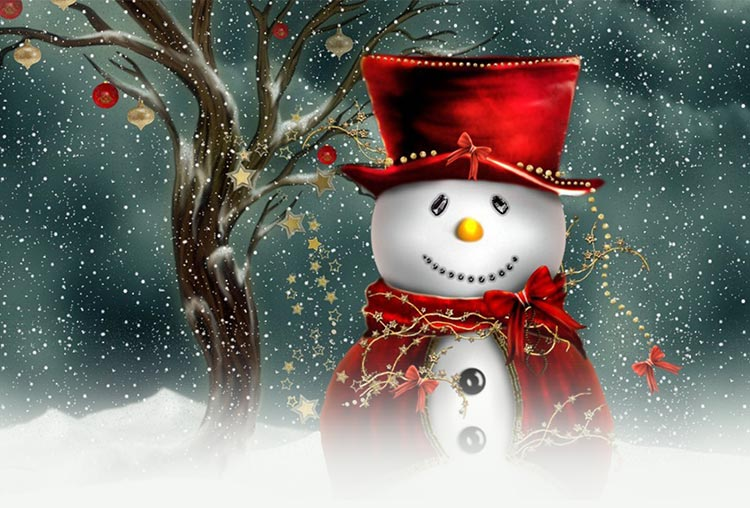christmas email stationery  stationary   cute christmas snowman