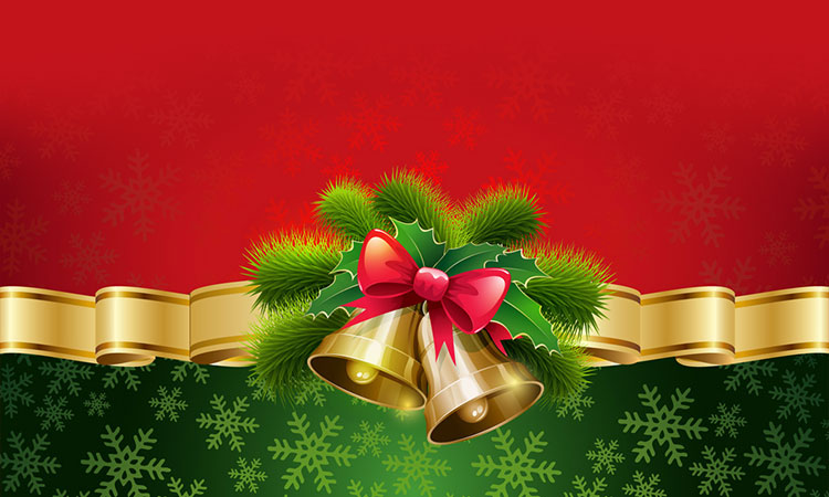 christmas email stationery  stationary   happy holidays christmas bells