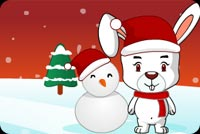 Joyful Merry Christmas Background