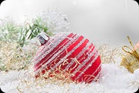 Beautiful Christmas Greetings Background