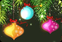 Christmas email backgrounds. Beautiful Christmas Decorations