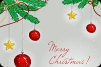 Christmas email backgrounds. A Very Merry Christmas!