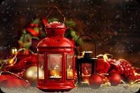 Xmas Lantern Background