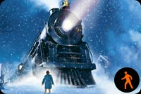 Animated The Polar Express Train Background