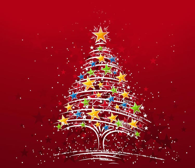 christmas email stationery stationary cool christmas tree