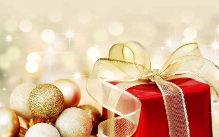 Christmas email stationery (stationary): Holiday Gifts For You