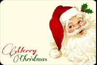 Christmas email backgrounds. Santa Merry Christmas