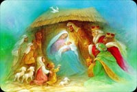 Christmas email backgrounds. Christmas Nativity