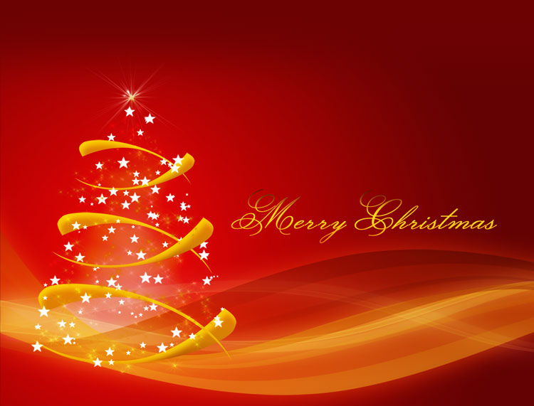 christmas email stationery  stationary   cool christmas tree vector