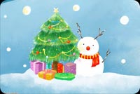 Bright And Cheerful Christmas Background