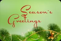 My Sweet Season's Greetings Background