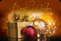 Christmas Best Wishes Background