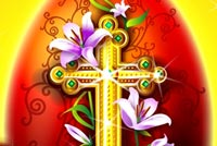 Happy Easter Religion Background