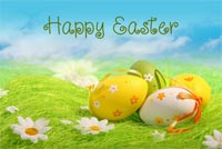 Bright Easter! Background