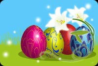 Wishing You The Joys Of Easter Background