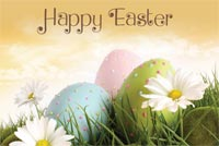 Easter email backgrounds. A Warm Easter Wish!