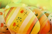 Easter email backgrounds. So Beautiful Easter Eggs