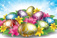 Easter Greetings Background