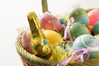 Beautiful Easter Basket For You Background