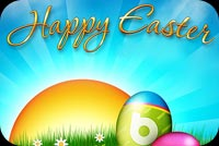 Easter email backgrounds. Special Easter Wishes For You