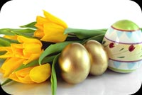 Easter email backgrounds. Easter Flowers For You
