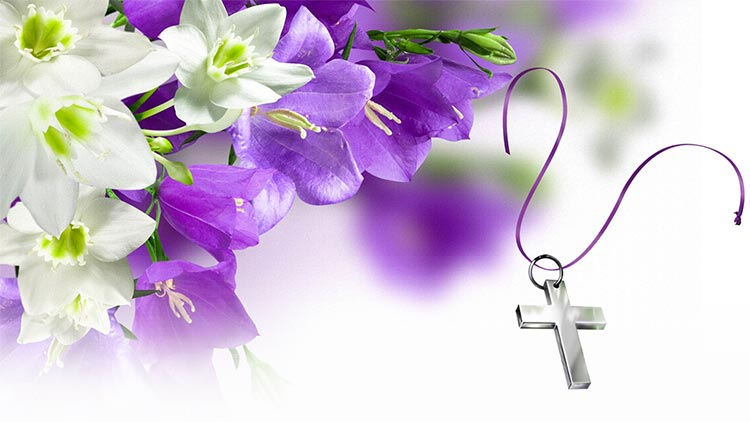 easter email stationery  stationary   beautiful easter flowers  u0026 the cross