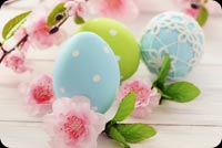 Wishing A Very Happy Easter Background