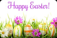 Easter email backgrounds. Special Easter Blooms