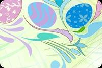 Elegant Easter Theme Background