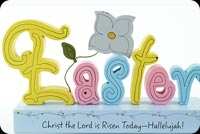 Christian Easter Background