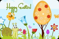 Hope Your Easter Is Happy Background