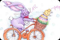 Easter email backgrounds. Thinking Of You This Easter