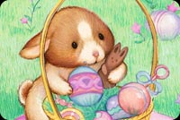 Easter email backgrounds. Happy Easter To Sweet Bunny