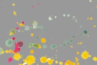 Art, Colorful Splatter Background