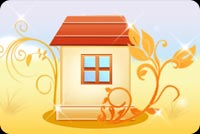 Fall House Background