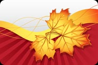 Fall autumn email backgrounds. Wishing You A Happy Autumn