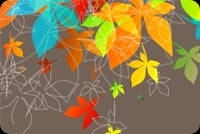 Happy Colors Of Autumn Background