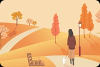 Fall autumn email backgrounds.  I Love Autumn!