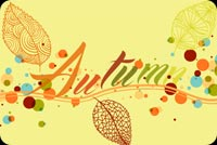 Wish A Happy Autumn To You Background