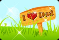 Fathers day email backgrounds. I Love You Dad