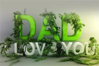 Daddy, I Love You Background
