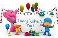 Father's Day Greetings Background
